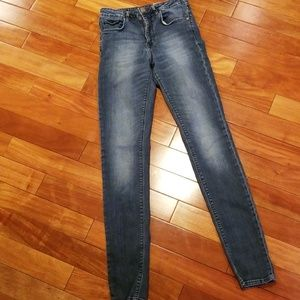 H&M skinny high waist size 27